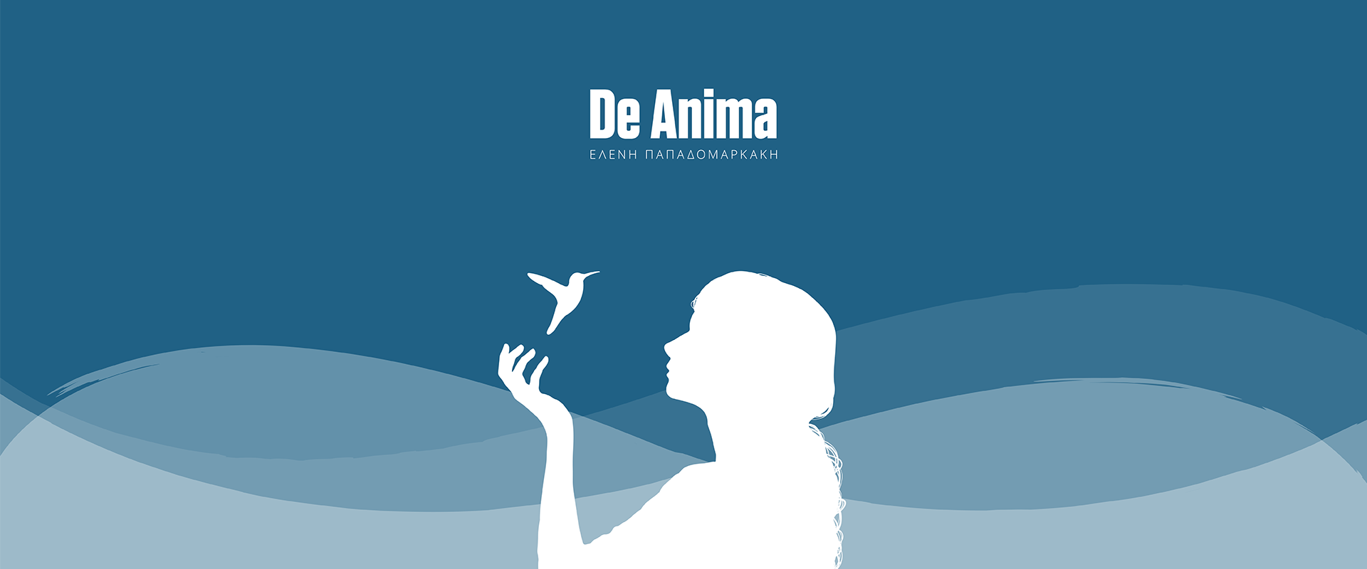 De Anima - Page Top Background Image - Girl & Humming Bird